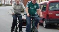 Søren, Emil og Peter på specialcyklen