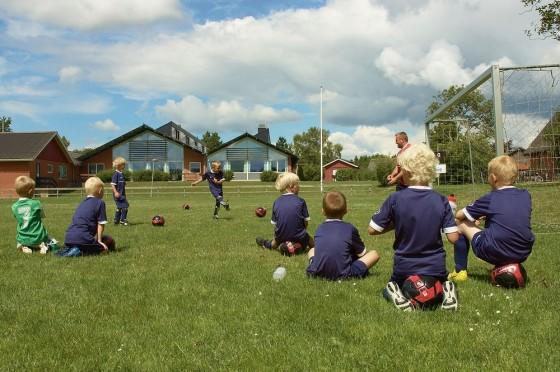 Fra fodboldskolen 2008