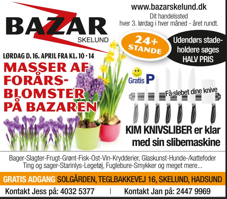 Bazar april 16